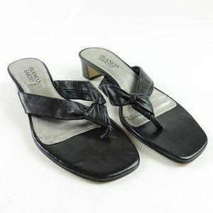 Franco Sarto Women L-Plush Sandals MISMATCH R8S7